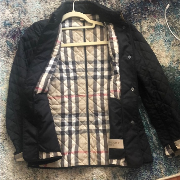 Authentic Burberry Brit Diamond Quilted Jacket